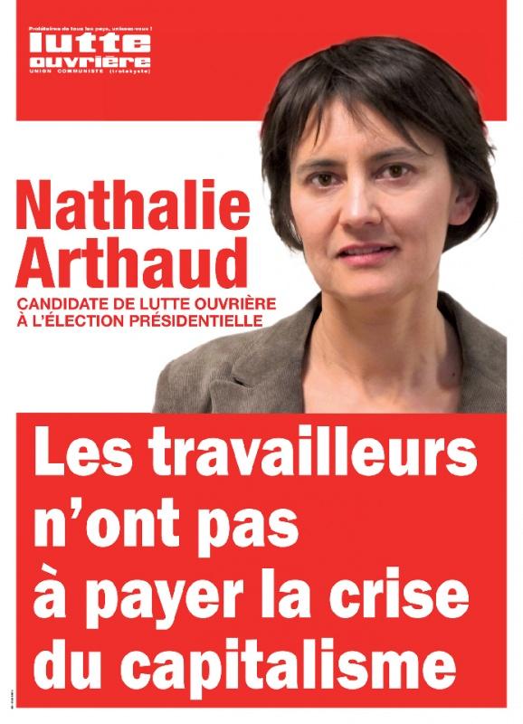 nathalie arthaud - lutte ouvrière - présidentielles 2012
